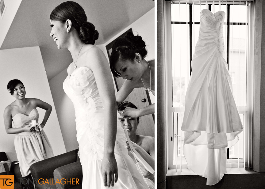 getting ready denver wedding photographer Tony Gallagher Photography 3