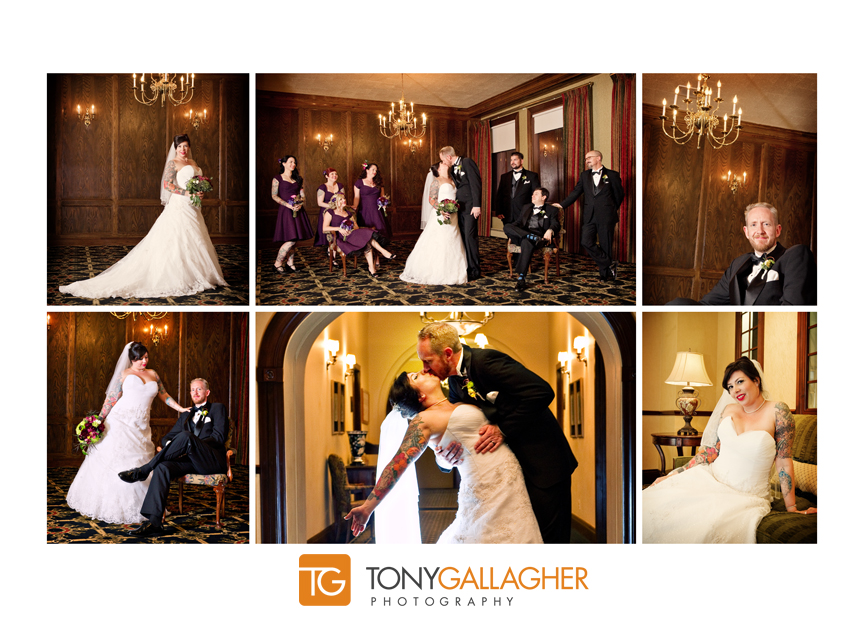 portraits Tony Gallagher Photography Denver wedding photographer Denver Athletic Club